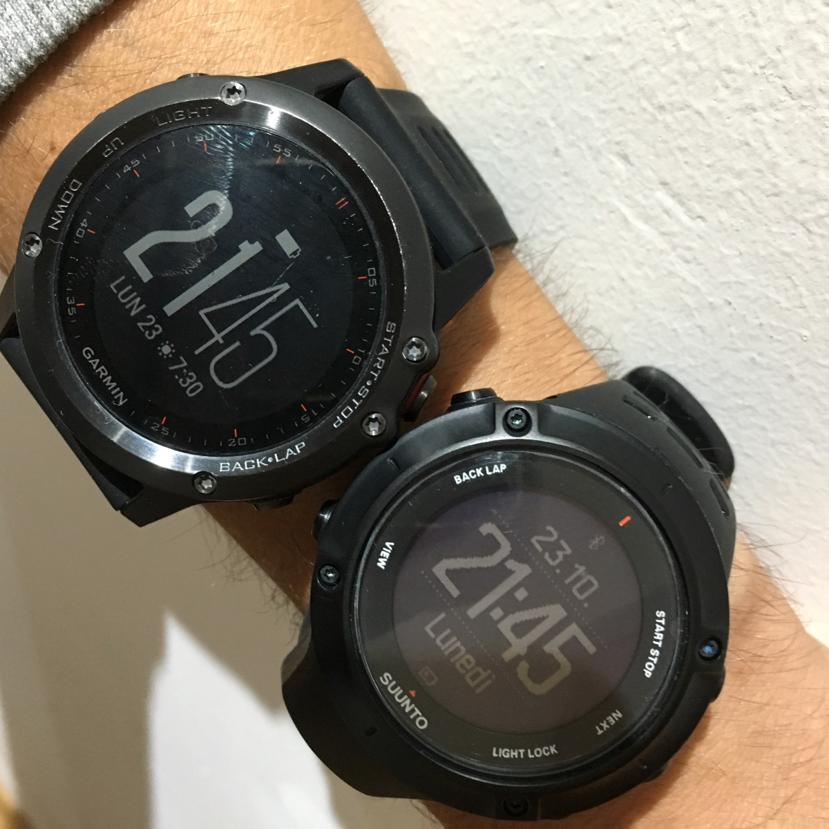 Suunto Vs Garmin: l'eterno dilemma