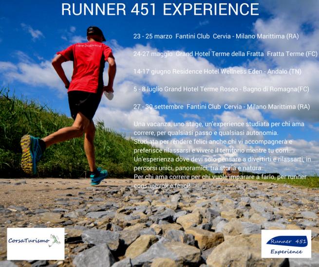 Runner 451 Experience copertina